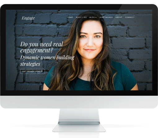Divi Website Template For Coaches – Enlightened